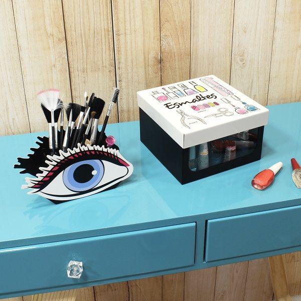 Caixa Meus Esmaltes  Organizador  Geguton Esmaltes