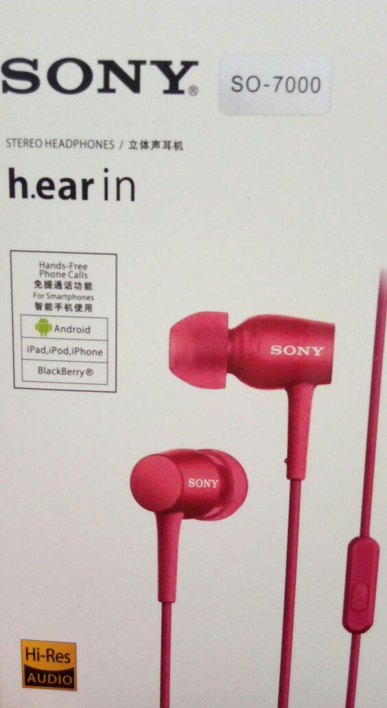 Fone de Ouvido Sony So-7000