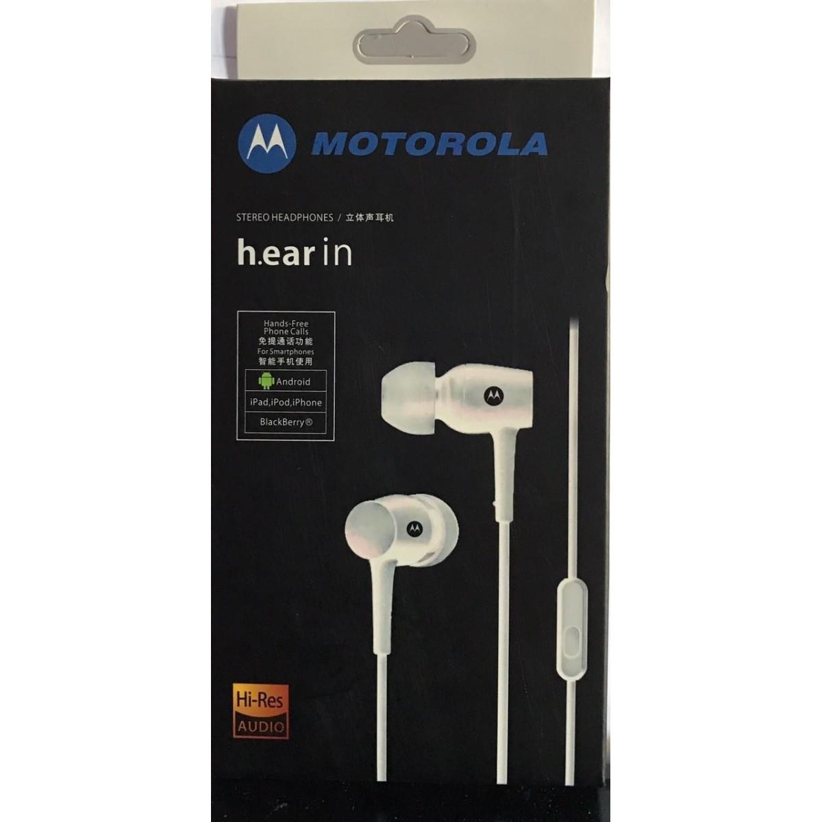 Fone De Ouvido Moto H.ear In