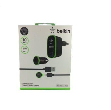 Kit 3 em 1 Carregador Belkin para iPhone