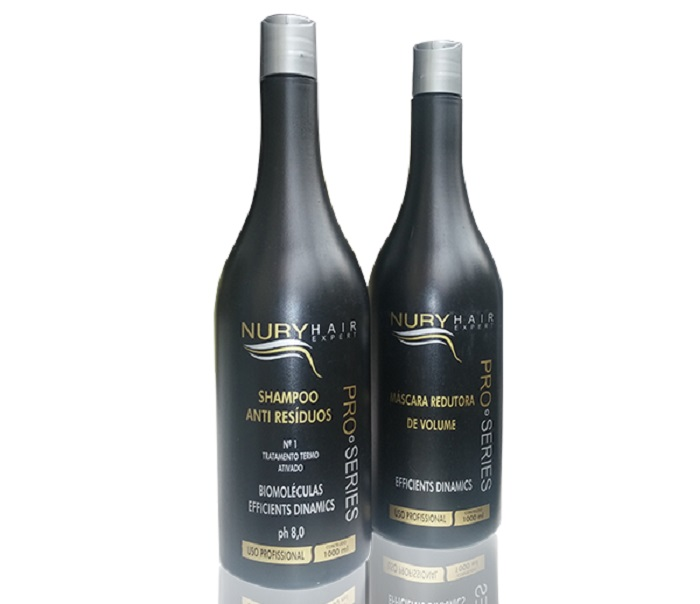Kit Progressiva Inteligente Black Nury Hair