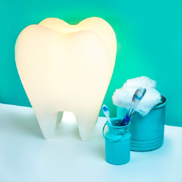 Luminária de Mesa Dente