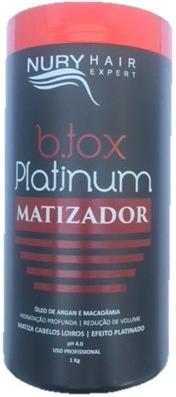 Botox Matizador Profissional  Platinum Nury Hair