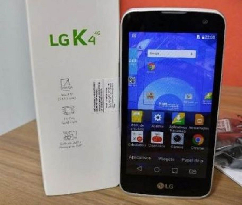 Smartphone LG K4 Preto