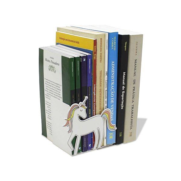 Suporte Aparador de Livros, DVD, Cd, Unicórnio