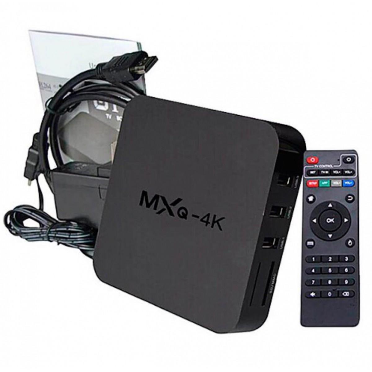 Tv Box Mxq 4k Android 6.0 Wi-fi Google Smart Tv Hdmi Netflix
