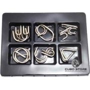 Kit Quebra Cabeça Metal Grandes Steel 6 pçs
