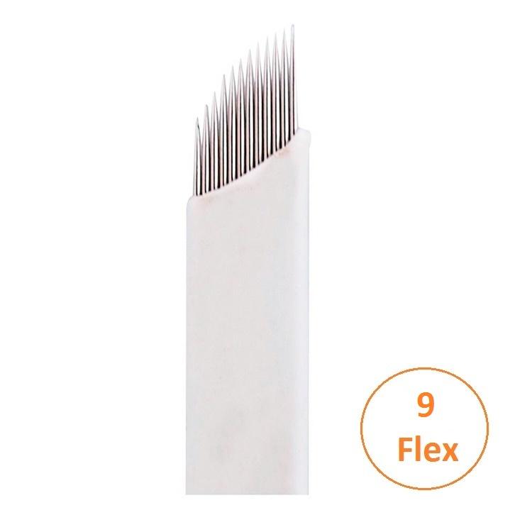Lâmina 9 Flex (5 unid.) - 0,18mm