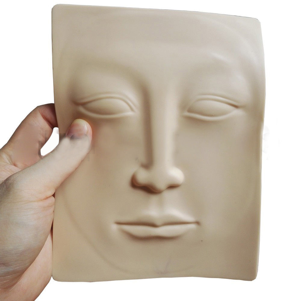 Pele Artificial 3D para Treinamento - Rosto