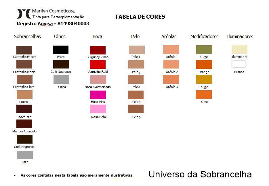 Pigmento Castanho Claro - 15ml