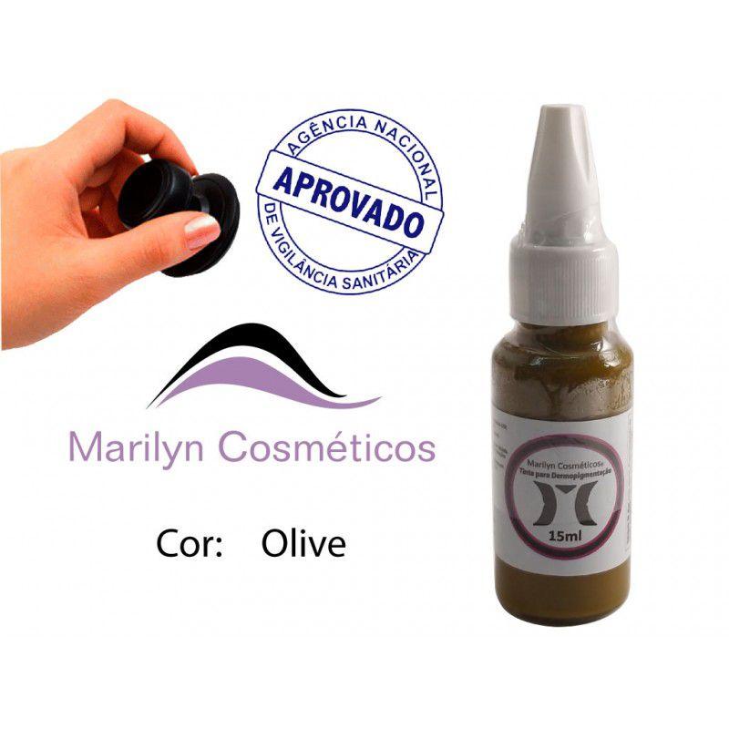 Pigmento Olive (Neutralizador) - 15ml