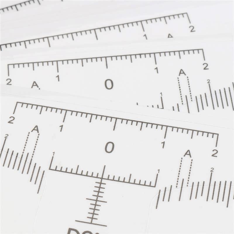 Régua Adesiva para Medição de Sobrancelhas (10 unid.)