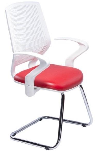 Cadeiras Fixa Delli com Braço