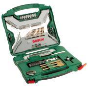 Bosch Kit Jogo Xline Titanio 103 peças