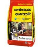 Rejunte Flexível Weber Branco Saco/1kg - Quartzolit