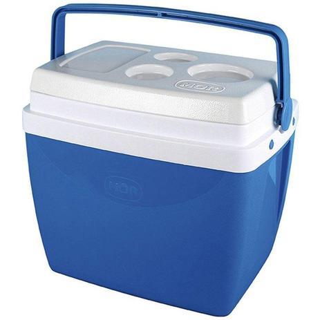 Caixa Térmica 26 Litros Azul - Mor  - Casa São Luiz