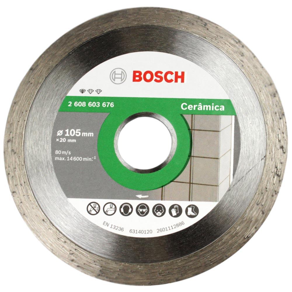 Disco Bosch Diamantado Standard Universal 105mm 676  - Casa São Luiz
