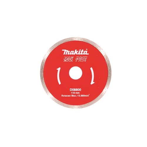 Disco Diamantado Makita MakFast Liso 110MM  - Casa São Luiz