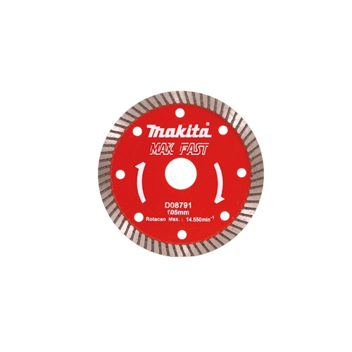 Disco Diamantado Makita Makfast Turbo 105MM  - Casa São Luiz