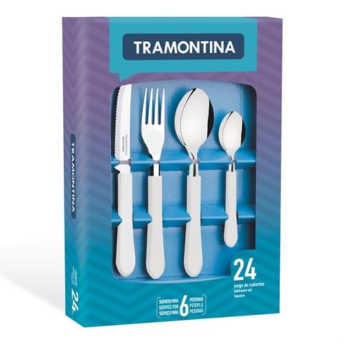 Faqueiro 24 peças Leme - Tramontina  - Casa São Luiz