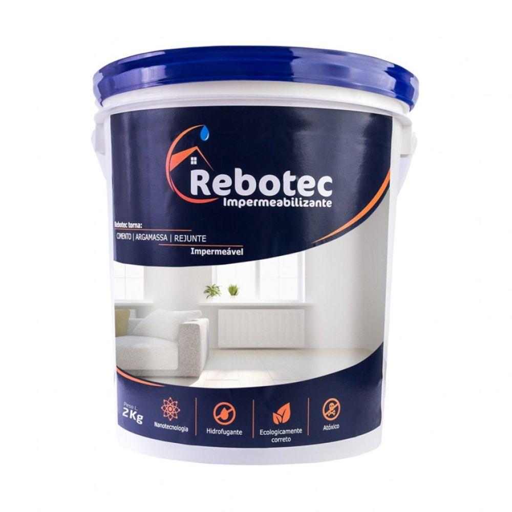 Impermeabilizante Rebotec Nanotecnico 2KG  - Casa São Luiz