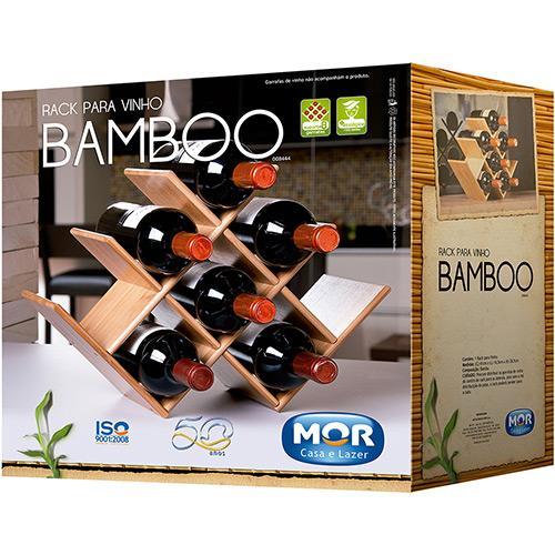 Rack para Vinho em Bamboo - MOR  - Casa São Luiz