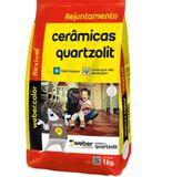 Rejunte Flexível Weber Bege Saco/1kg - Quartzolit  - Casa São Luiz