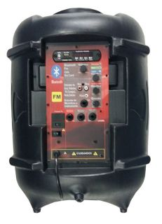 Caixa Ativa Supertech Turbinada PE10 282WR 1 Canal Bluetooth/USB/SD/FM