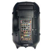 Caixa Ativa Supertech Turbinada PE15 676WR Bluetooth/Usb/Sd/Fm Com Efeito