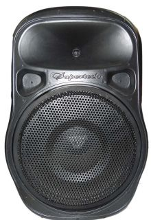 Caixa Ativa Supertech Turbinada PE15 432WR 1 Canal Bluetooth/Usb/Sd/Fm.