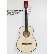 Violão Winner Nylon Classico Acustico Natural