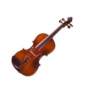 violino Michael Vnm47 4/4 Ebano C/2 Arco E Espaleira Co
