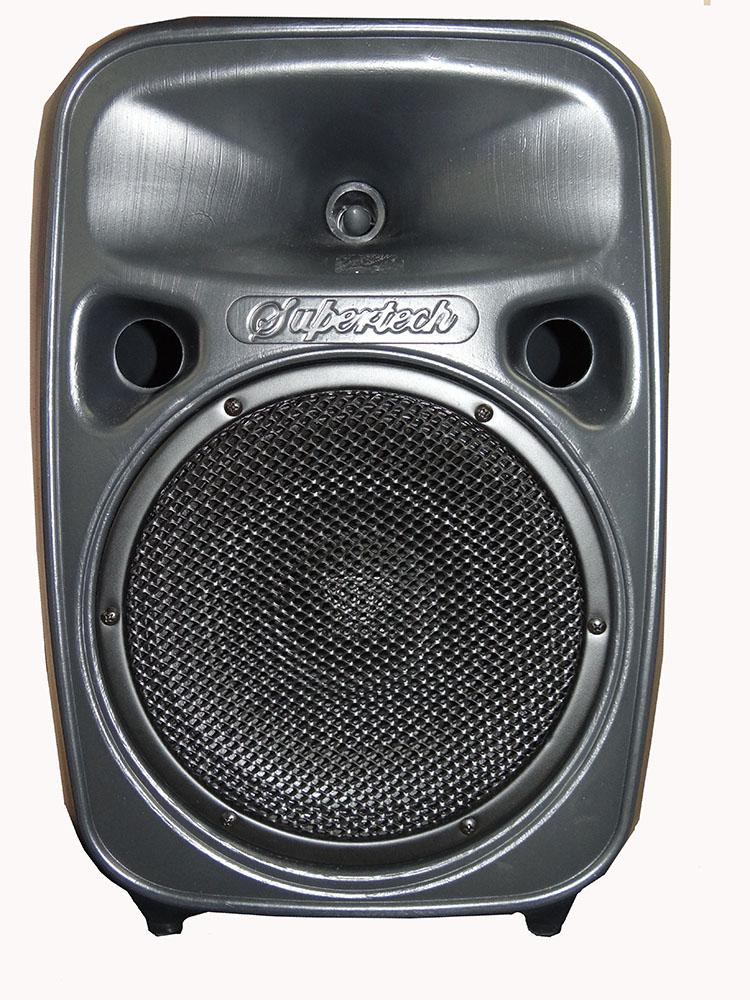 CAIXA SUPERTECH TURBINADA PE10 264WR 02 CANAIS ATIVA BLUT/USB/SD/FM