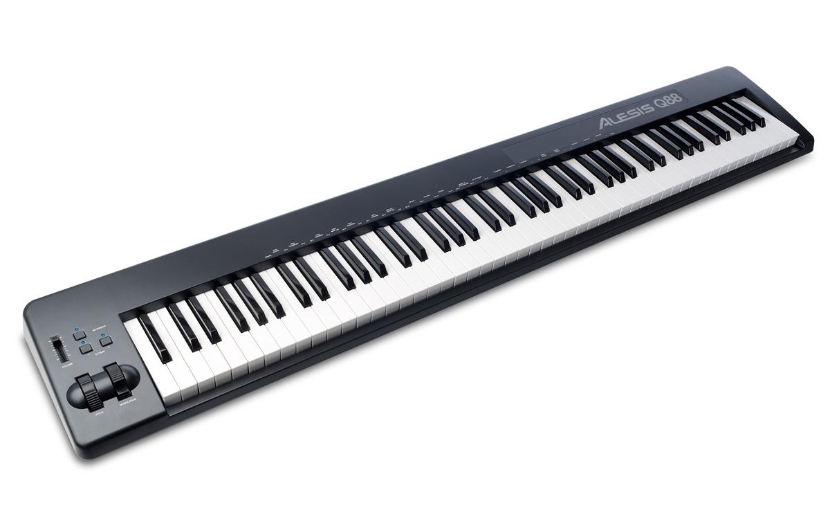 CONTROLADOR ALESIS Q88 USB/MIDI 88 TECLAS