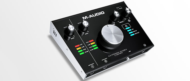 INTERFACE M-AUDIO M-TRACK 2X2 USB