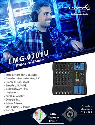 MESA DE SOM LYCO LMG-0701U