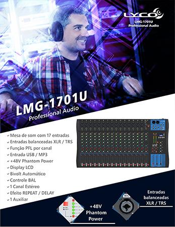 MESA DE SOM LYCO LMG-1701U