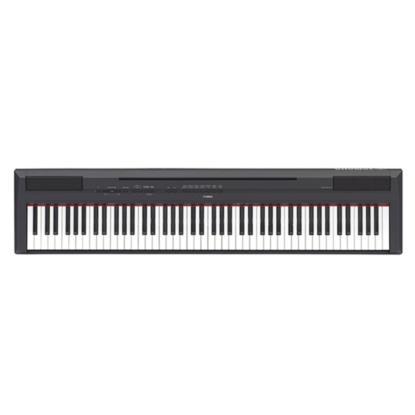 PIANO YAMAHA P115 DIGITAL 88 TECLAS PESADA PRETO