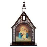 Capelinha Adorno de Mesa Mãe Rainha
