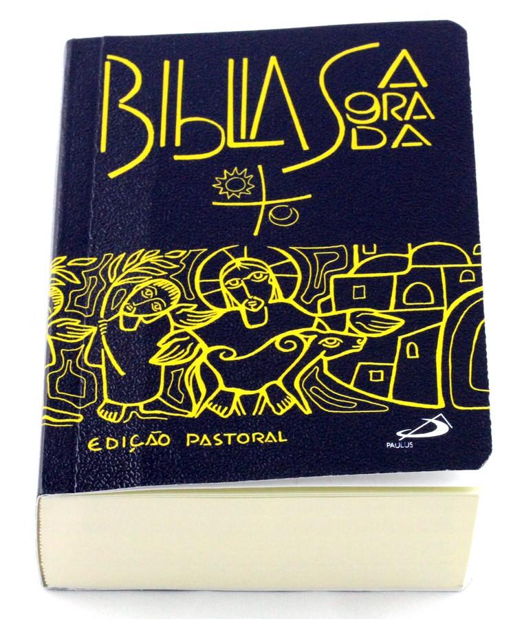Bíblia Sagrada edição Pastoral - bolso