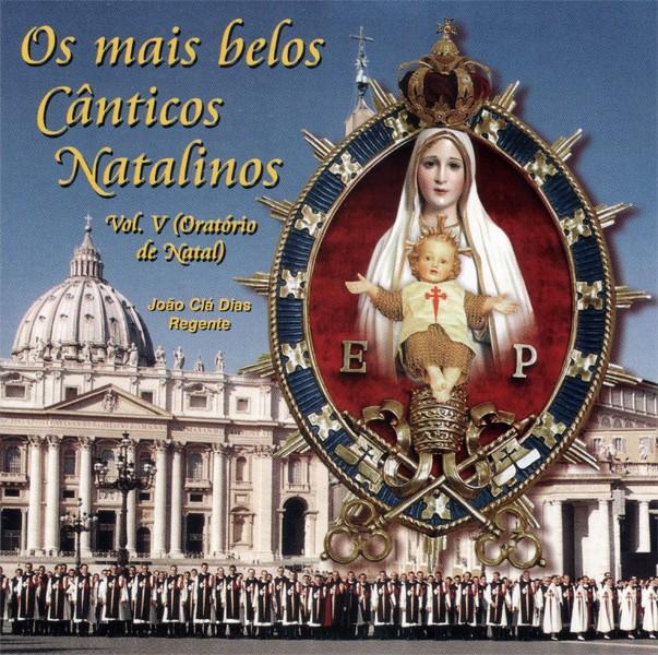 CD Os Mais Belos Cânticos Natalinos - Vol. V - Oratório de Natal