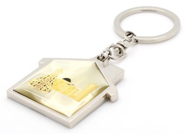 Chaveiros N. Sra Aparecida - Formato Capelinha Amarelo
