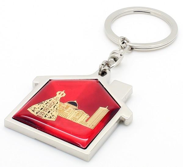 Chaveiros N. Sra Aparecida - Formato Capelinha Vermelho