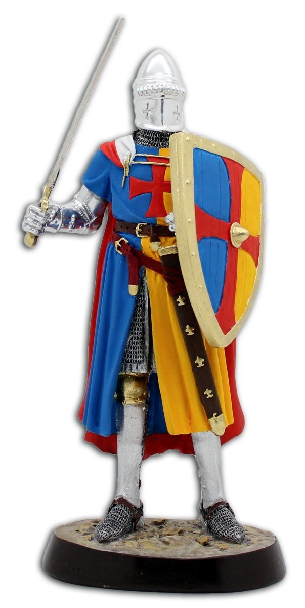 Estatueta Guerreiro Medieval - Artesanal