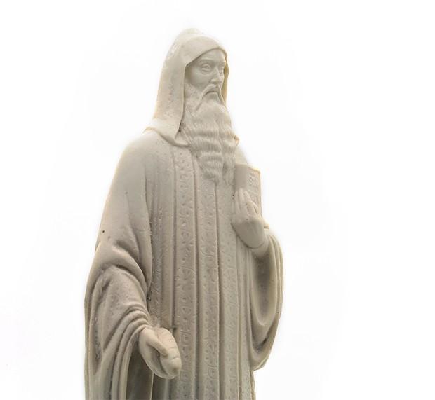 Imagem Escultura São Bento - 23cm