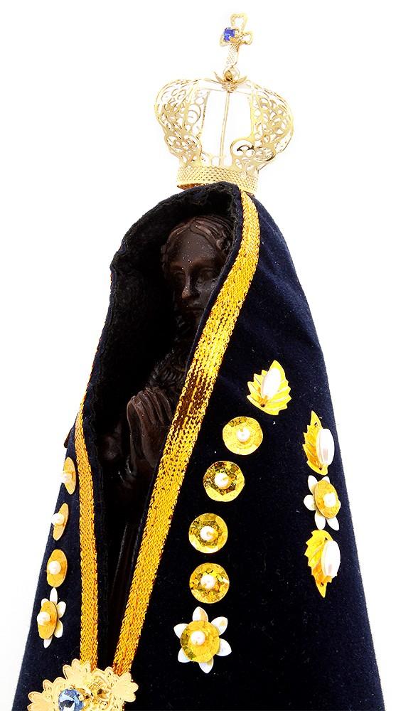 Imagem Escultura N.Sra Aparecida - 27 cm