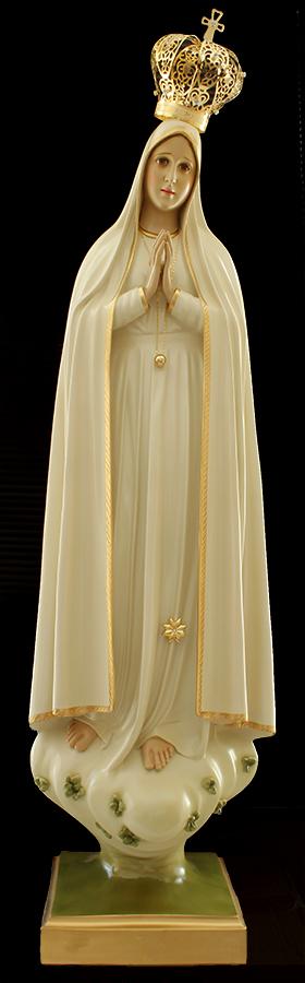 Imagem Escultura Nossa Senhora de Fátima - 120cm FRETE INLCUSO