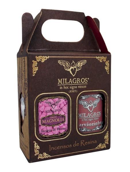 Kit Incenso Grego Magnolia + carvão
