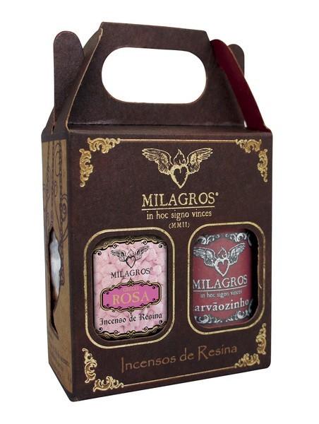 Kit Incenso Grego Rosas + carvão
