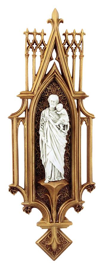 Oratório São José em resina - 39cm